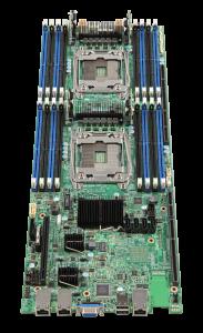 Intel® Server Board S2600TP Connectors png