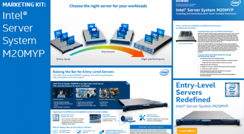 Intel® Server System M20MYP Marketing Kit